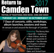 Return to Camden - Irish Music Festival