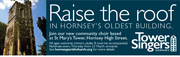 TOWER SINGERS - new choir in Hornsey!