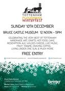 Tottenham Ploughman WinterFest at Bruce Castle 10th Dec
