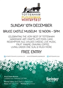 Tottenham Ploughman WinterFest at Bruce Castle 10th Dec