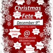 Community christmas fete