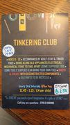 *Next one SAT 17 MARCH* TINKERING CLUB @ The Hub, Lordship Rec