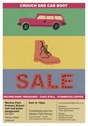 Crouchend Car Boot Sale