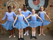 Ballet classes for children on Saturdays
