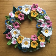 Crochet at the Cinema (springtime floral wreath - beginners and improvers)