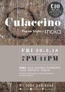 Italian Culaccino Pop Up night at Moka