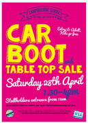 Car Boot Sale at Campsbourne School, N8