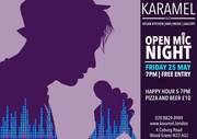 Open Mic Night at Karamel