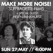 London premiere of Emmeline Pankhurst doc and chance to meet her great grand-daughter this sunday!