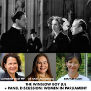 Winslow Boy Screening and Panel Discussion about Women in Parliament