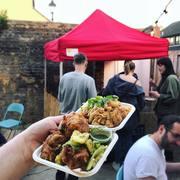 Indie & West (Creole-Carribean Street Food) at Tottenham Social