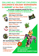 Children's Holiday Workshop in August at The Hub