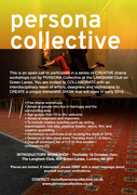 FREE DRAMA WORKSHOPS on Thursdays WITH PERSONA COLLECTIVE