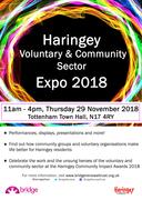 Haringey Voluntary adn Community Sector Expo 2018