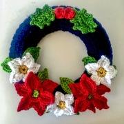Learn to Crochet An Xmas Wreath
