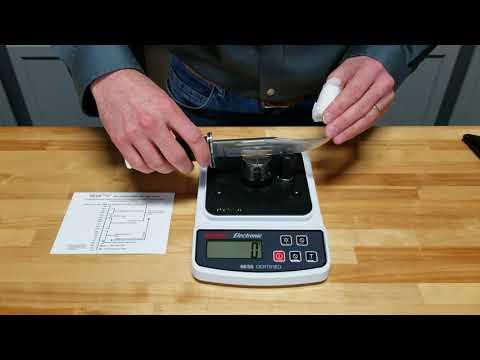 Demonstrating Edge-On-Up Edge Sharpness Tester