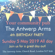 Antwerp Arms 4th Birthday Party