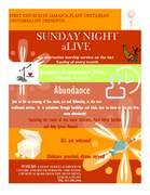 Sunday Night aLive