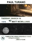 Paul Turano and Matt McWilliams at Loring-Greenough Film