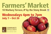 Community Servings' Farmers' Market Opening Celebration