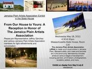 Jamaica Plain Artist Association Art Reception