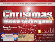 Christmas Musical Extravaganza for the Whole Family