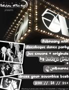 return to STUDIO 54 discotheque dance party w/BODEGA GIRLS & DJ COLBOURNE