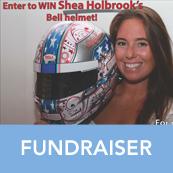 Shea Holbrook Duchenne Racing Helmet Raffle