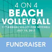 Volley for Mitchell