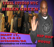 BRIAN GREEN HIP - HOP / HOUSE IS COMING TO ISTANBUL, TURKEY