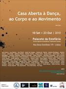 Casa Aberta à Dança, ao Corpo e ao Movimento