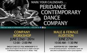 Peridance Contemporary Dance Company June Workshop & Audition