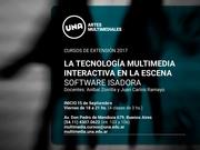 La tecnología multimedia interactiva en la escena. Software Isadora.