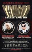 DJ REVOLUTION (LA) + MILES MEDINA(SF) Live at The Parlor SF