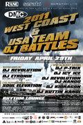 2011 DMC West Coast DJ Battle + DMC USA Team Competition (LONG BEACH)