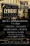 The Oakland Lyricist lounge