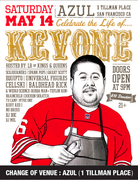 Kev One Celebration - Saturday, May 14th @AZUL (1 TILLMAN PLACE, SF)