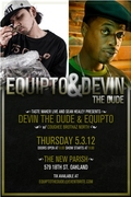 Equipto with Devin The Dude & the Coughee Brothaz - Hosted by Bud Bundy and Cali Sounds