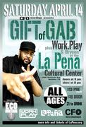 Gift Of Gab (Of Blackalicious) Live in Berkeley, CA!!