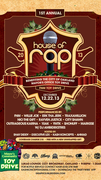 1st Annual | House of Rap | Toy Drive