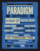 Paradigm Rhymes: Positive Poetry & Spoken Word Series