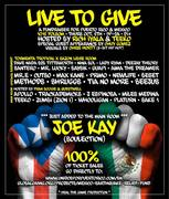 LIVE to GIVE - A Fundraiser for Puerto Rico and Mexico