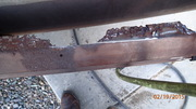 Rear Bumper Rust
