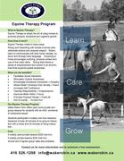 Wake Robin Farm Equine Therapy Open House