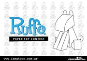 Design your own Ruffo® paper toy!