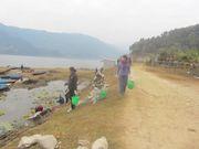 New Years Day, 2013, Pokhara, Nepal