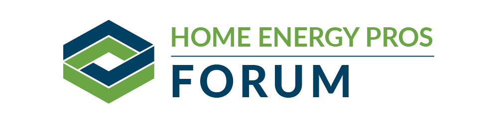 Home Energy Pros Forum