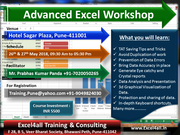 Advance Excel Training in Pune