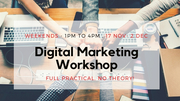 Digital Marketing Hands-on Workshop, No Theory! (SEO, SMM and PPC)
