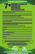 7º CONGRESO NACIONAL DE COMPOSTAJES INDUSTRIALES 2015.